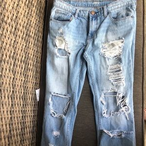 Bdg destroyed jeans